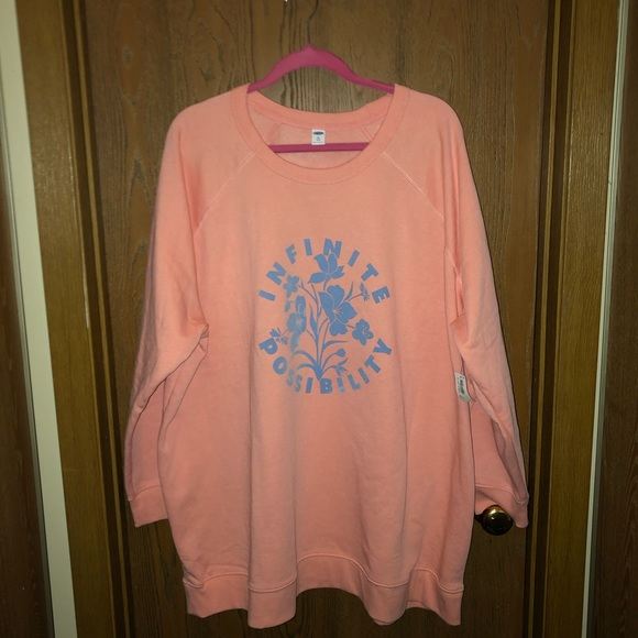 Grey /& Pink Best Company Crew Neck Raglan Sweatshirt BNWT